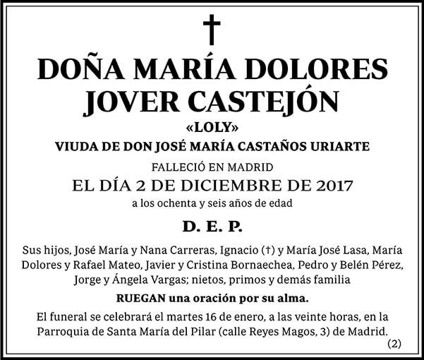 María Dolores Jover Castejón